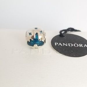 PANDORA Sleeping Beauty Castle Charm - Disneyland